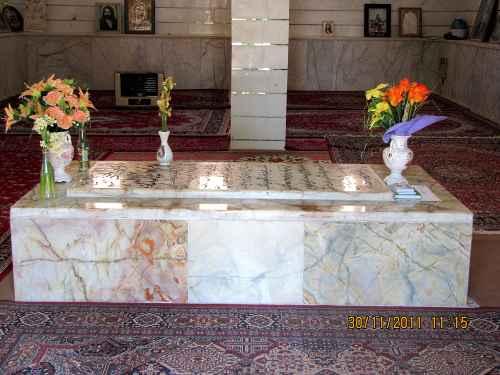 سنگ مقبره امامزاده سید جلال الدین چوپانان